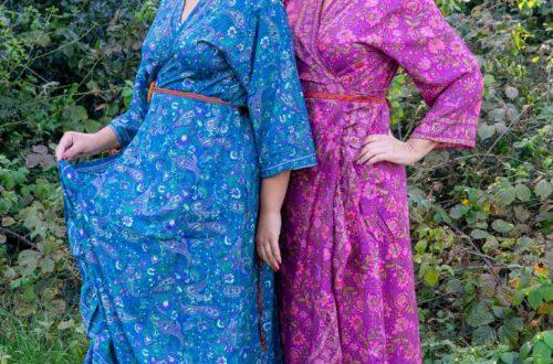 Tantilly zijden jurk